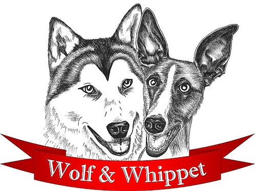 Wolf and Whippet Logo T-Shirt