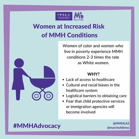 Image women at increased risk of MMH con