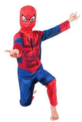 ULTIMATE SPIDER-MAN STANDARD COSTUME, CHILD
