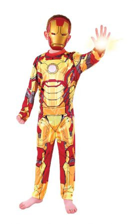 IRON MAN STANDARD COSTUME, CHILD