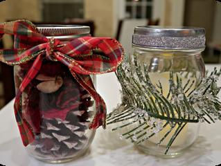 Beautiful Christmas DIY Mason Jar Craft