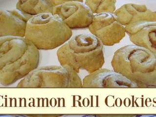 Simple Cinnamon Roll Cookies