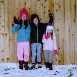 Our Houston Snow Day vlog is up on our channel. I love this shot of the kids