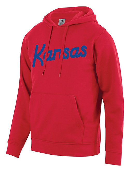 KU Script Hooded Sweatshirt