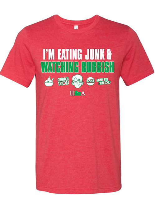Eating Junk Home Alone Tee