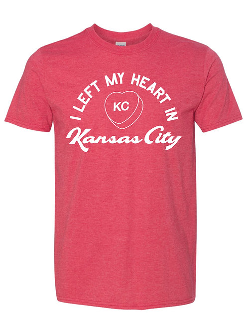I Left My Heart in Kansas City tee