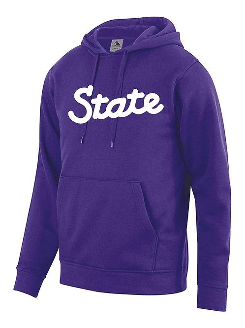K State Script Hooded Sweatshirt