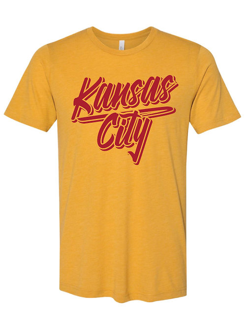 Kansas City Script Tee