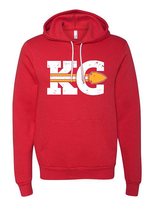KC Vintage Hoodie Sweatshirt