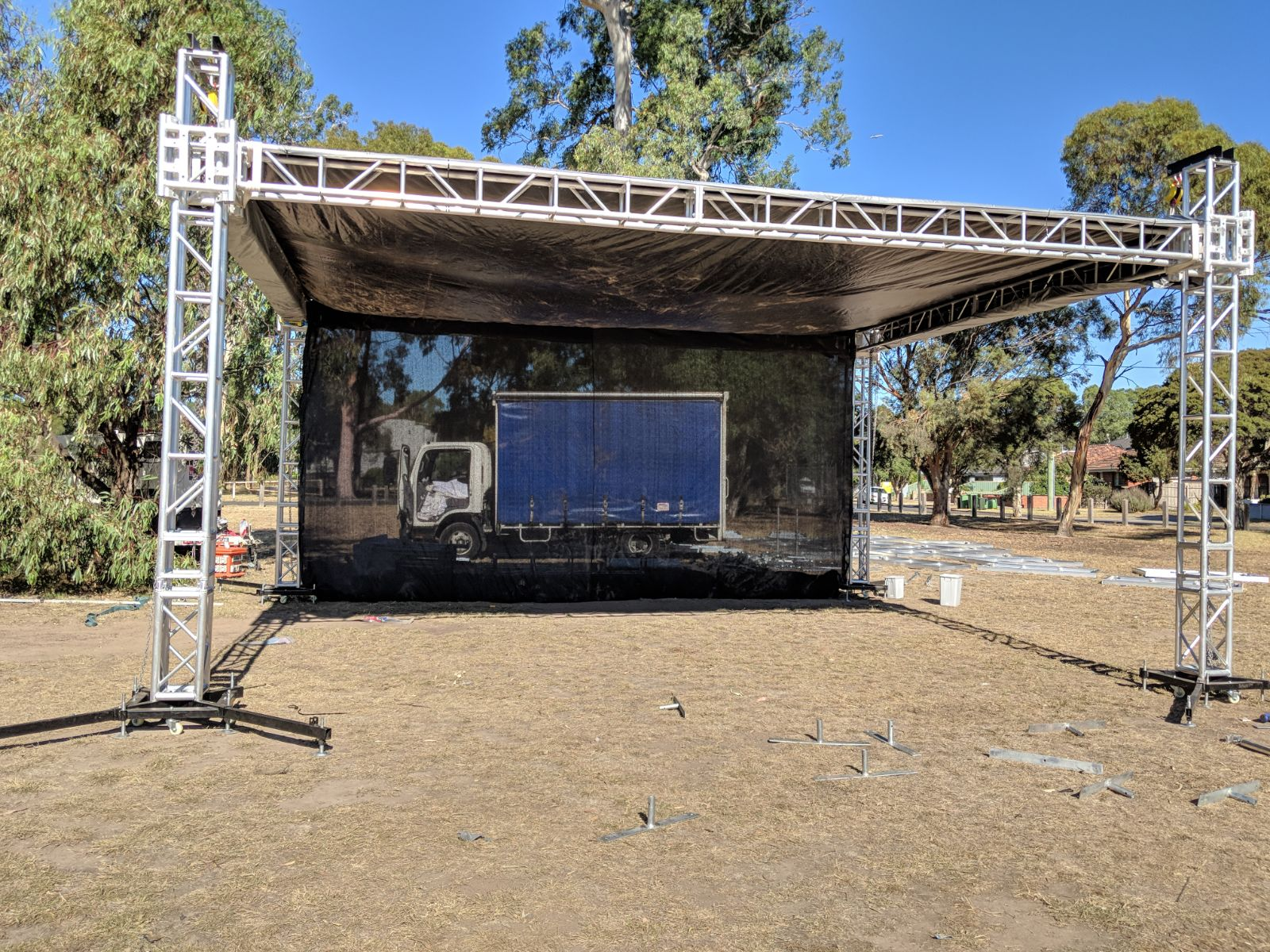 Staging|Heavy Duty Event Stage Hire in South East,Western,North suburb