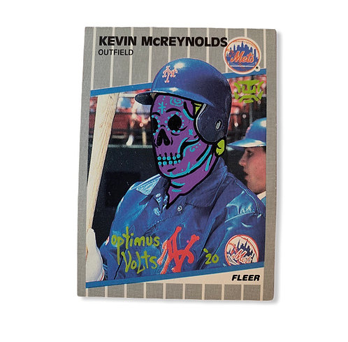 Kevin McReynolds Fleer 1989 New York Mets