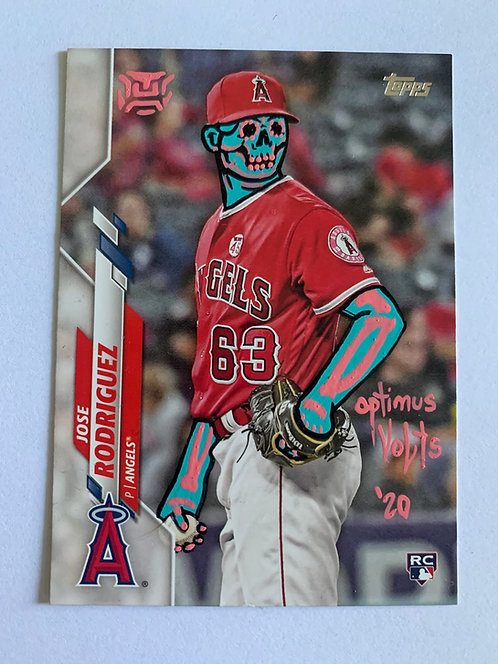 Jose Rodriguez Topps 2020 Los Angeles Angels