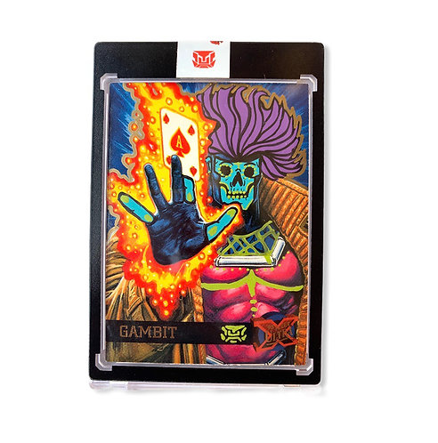 Gambit fleer ultra 1995 with gold metallic & one touch