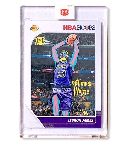 LeBron James 1/1 NBA hoops Panini 2019-20 Los Angeles Lakers