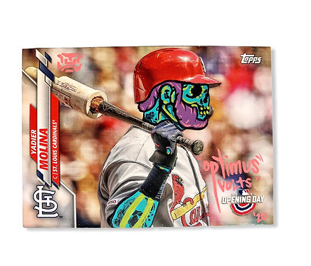 Yadier Molina Opening day tops 2020 St. Louis Cardinals