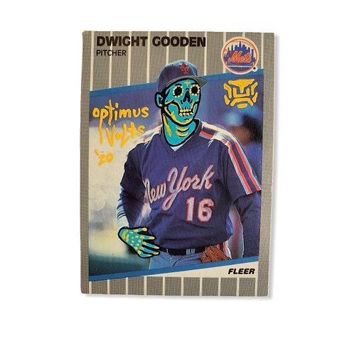 Dwight Doc Gooden Fleer 1989 New York Mets