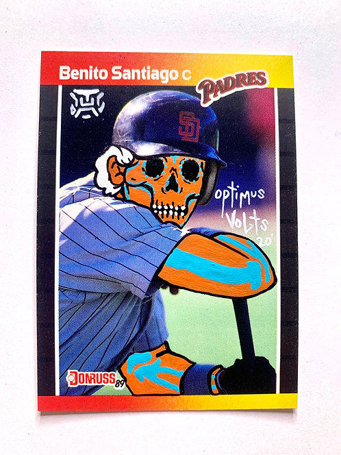 Benito Santiago Donruss 1989 San Diego padres