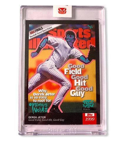 Derek Jeter 1/1 Topps 2021 Sports Illustrated New York Yankees