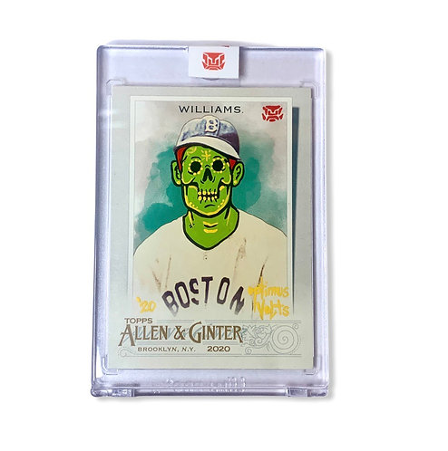 Ted Williams Topps 2020 Allen & Ginter Boston Red Sox