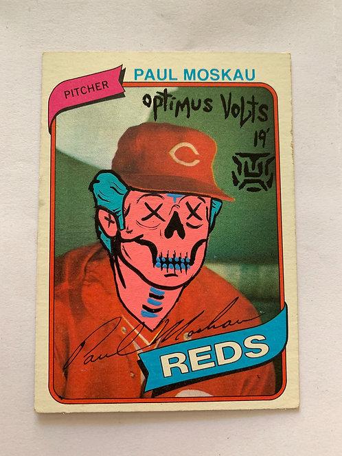 Paul Moskau Topps 1978 Cincinnati Reds