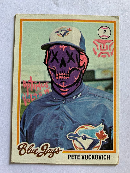 Pete Vuckovich Topps 1978 Toronto Blue Jays