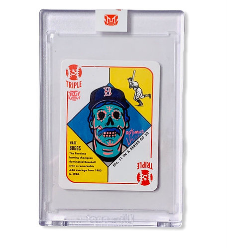 Wade Boggs 1/1 Topps 1951 by Blake Jamieson Boston Red Sox