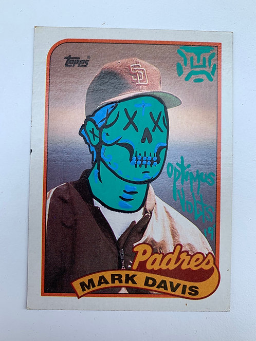 Mark Davis Topps 1989 San Diego Padres