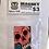 Thumbnail: Handpainted skull magnet