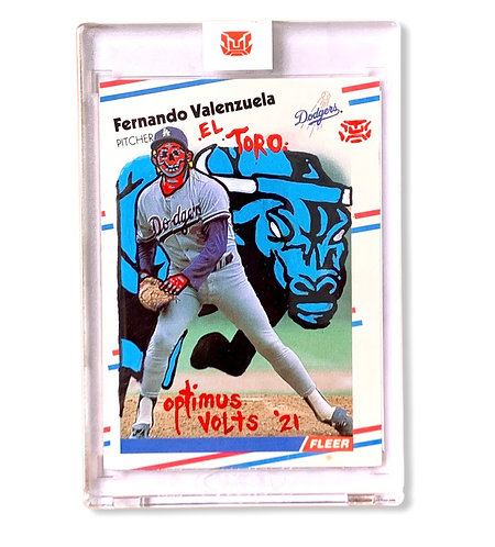 Fernando Valenzuela 1/1 El Toro Los Angeles Dodgers
