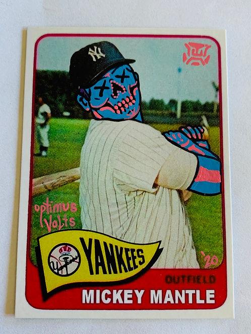 Mickey mantle Topps 1965 Reprint New York Yankees