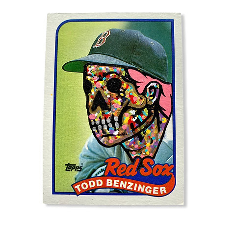 Todd Benzinger Topps 1989 Boston Red Sox Red Sox