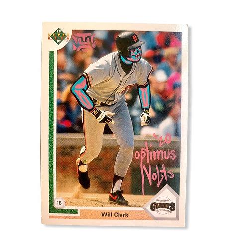 Will Clark upper deck 1991 San Francisco Giants