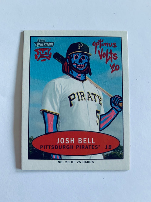 Josh Bell Topps Heritage Pittsburgh pirates