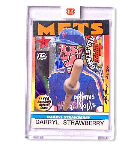 Darryl Strawberry Kalab card Donovan Lopez @Donnybecollectibles 1/1 Mets