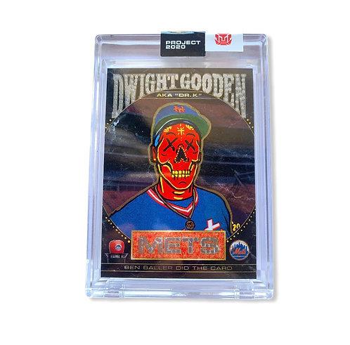 Dwight Doc Gooden Topps Project 2020 Ben Baller 1/1 New York Mets