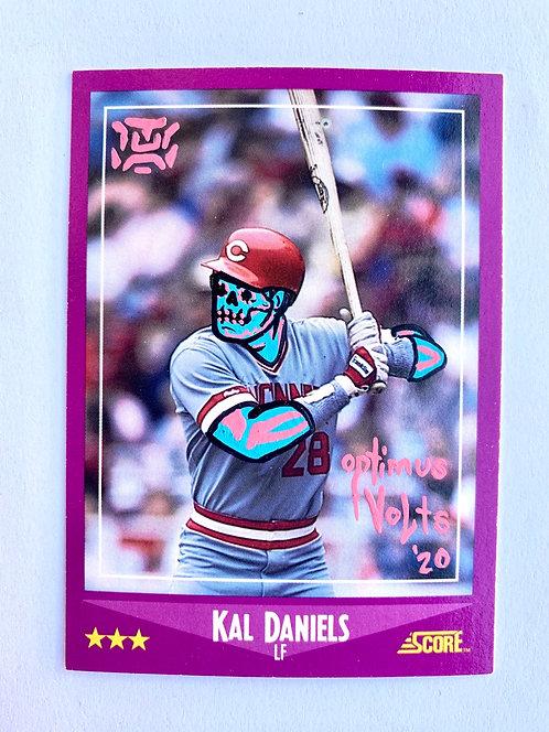 Kal Daniels Score 1988 Cincinnati reds