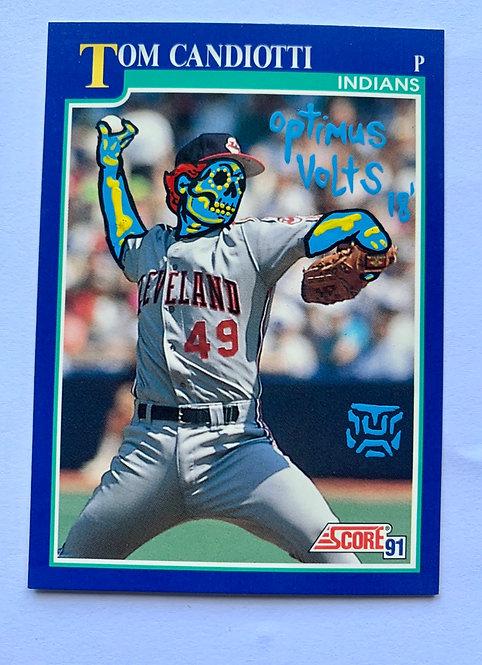 Tom Candiotti Score 1991 Cleveland Indians