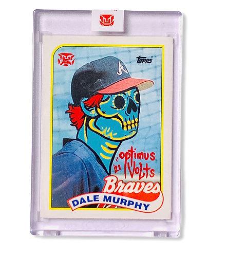 Dale Murphy 1/1 Topps 1989 Atlanta Braves