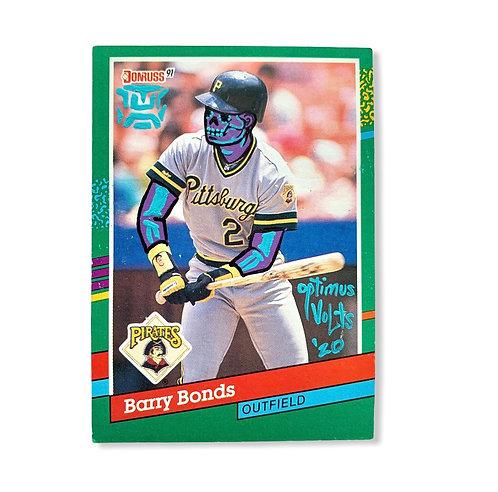 Barry bonds Donruss 1991 Pittsburgh pirates