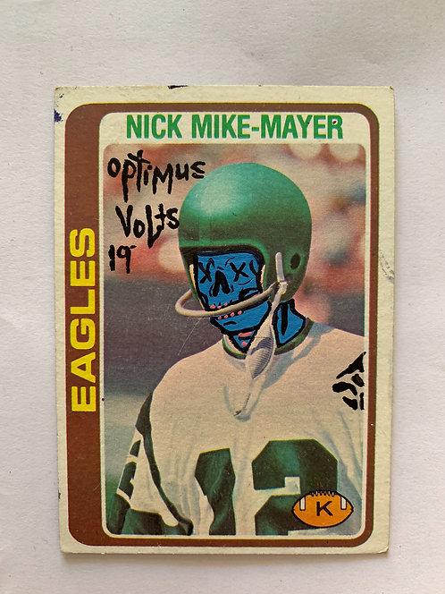 Nick Mike-Mayer Topps 1978 Dia Delos Muertos Football cards