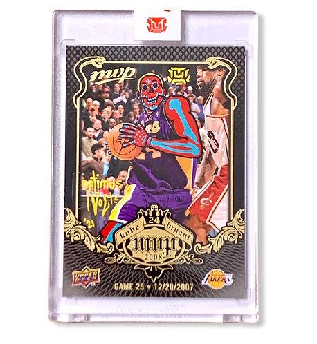 Kobe Bryant Upper deck 2008-09 MVP KB-25 Los Angeles Lakers