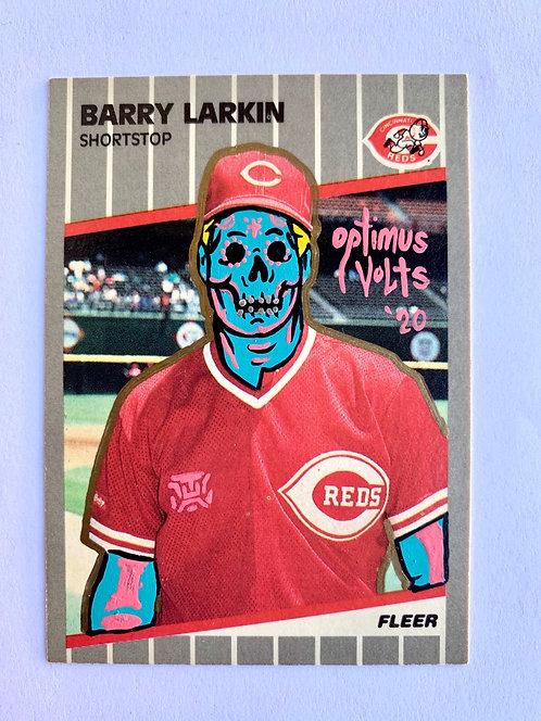 Barry Larkin fleer 1989 Cincinnati Reds