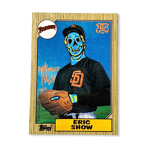 Eric Show Topps San Diego padres