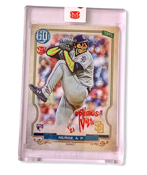Andres Munoz 1/1 RC Topps Gypsy queen 2020 San Diego padres