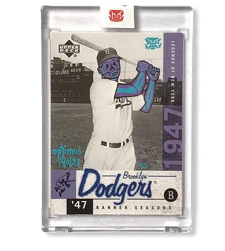 Jackie Robinson upper deck 2001 Brooklyn Dodgers