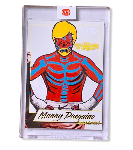 Manny Pacquiao 1/1 Legends Series
