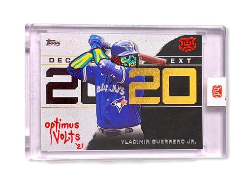 Vladimir Guerrero Jr. 1/1 Topps 2020 Toronto Blue Jays