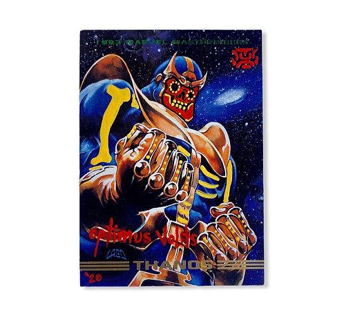 Thanos 1993 marvel masterpieces skybox