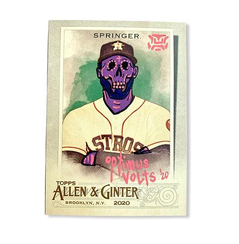 George Springer Topps 2020 Allen & Ginter Houston Astros