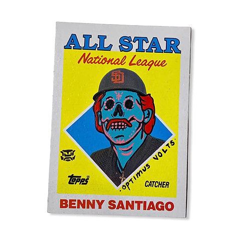 Benny Benitos Santiago Topps San Diego padres